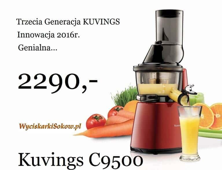 Wyciskarka soków Kuvings C9500