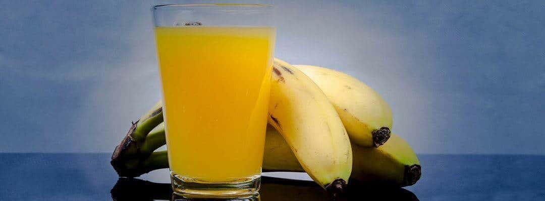 Sok z banana, pomarańczy i jabłka.