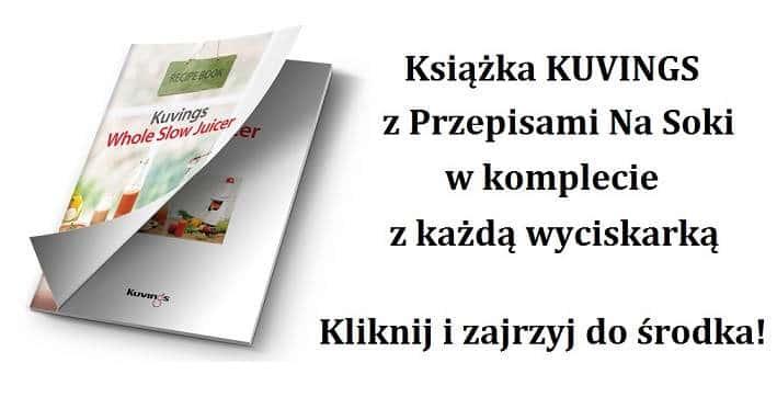 Książka Kuvings z przepisami na soki
