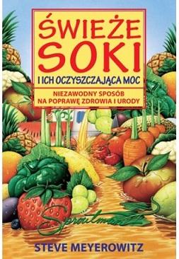 Książka Świeże Soki i ich Oczyszczająca Moc do każdej wyciskarki Kuvings