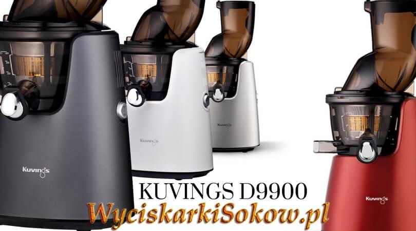 Kolory oficjalnej polskiej dystrybucji wyciskarki Kuvings D9900