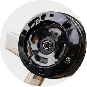 Specjalne nowe czteropunktowe mocowanie pokrywy w misie od Kuvings D9900