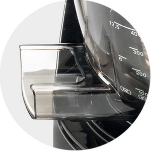 Łatwiejsze czyszczenie i sprawne odprowadzenie odpadów w Kuvings D9900