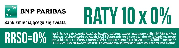 Raty 0% BNP Paribas