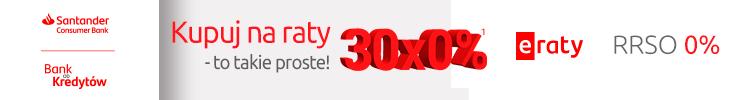 30 rat 0% z Santander Banku