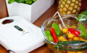 Ozonator Vita-My w kuchni czyści warzywa i owoce